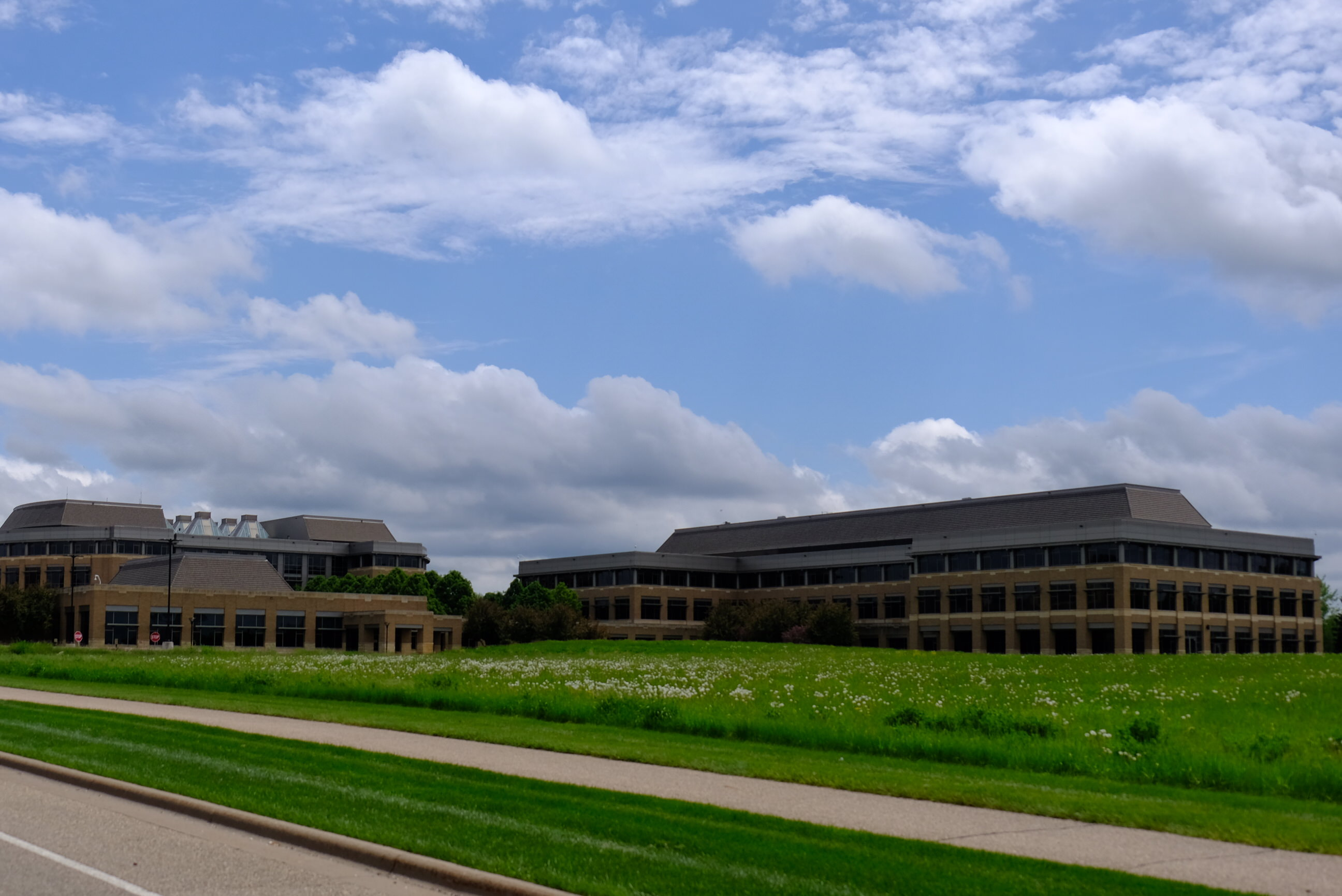 Medtronic's operational headquarters in Fridley, Minnesota.