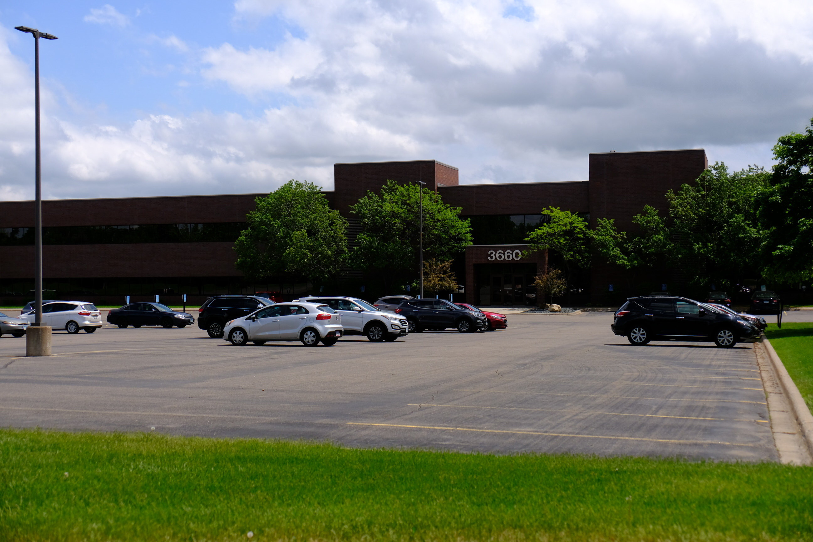 Deluxe's corporate headquarters in Shoreview, Minnesota.