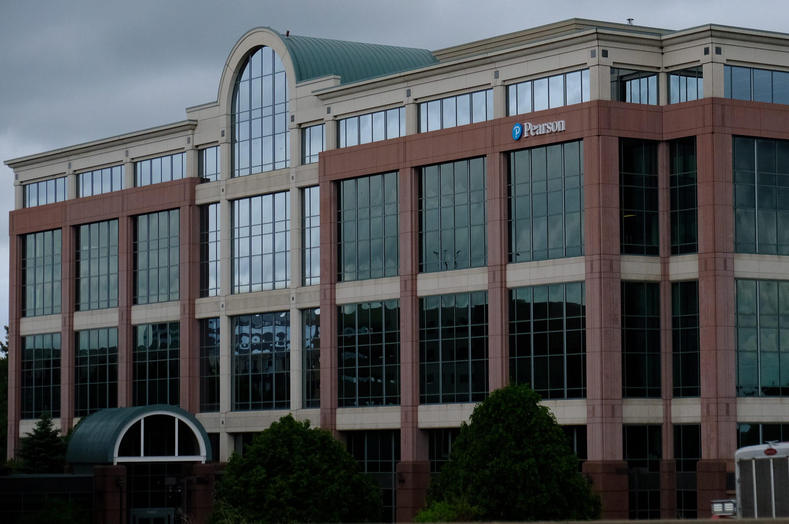Pearson office in Bloomington, Minnesota.