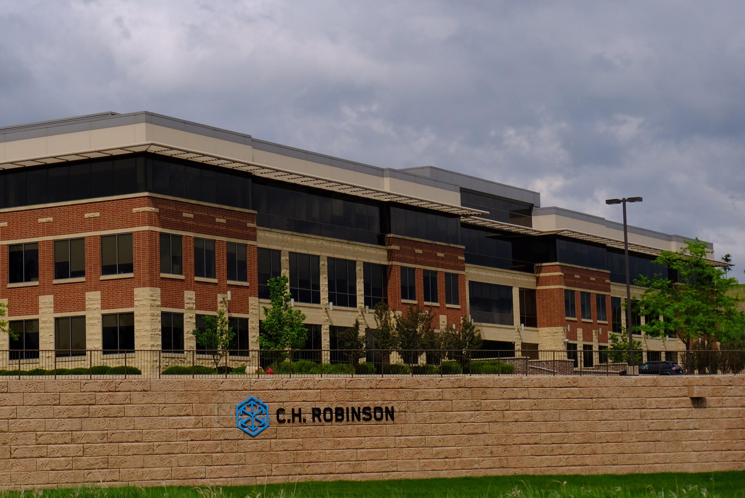C.H. Robinson's corporate headquarters in Eden Prairie, Minnesota.
