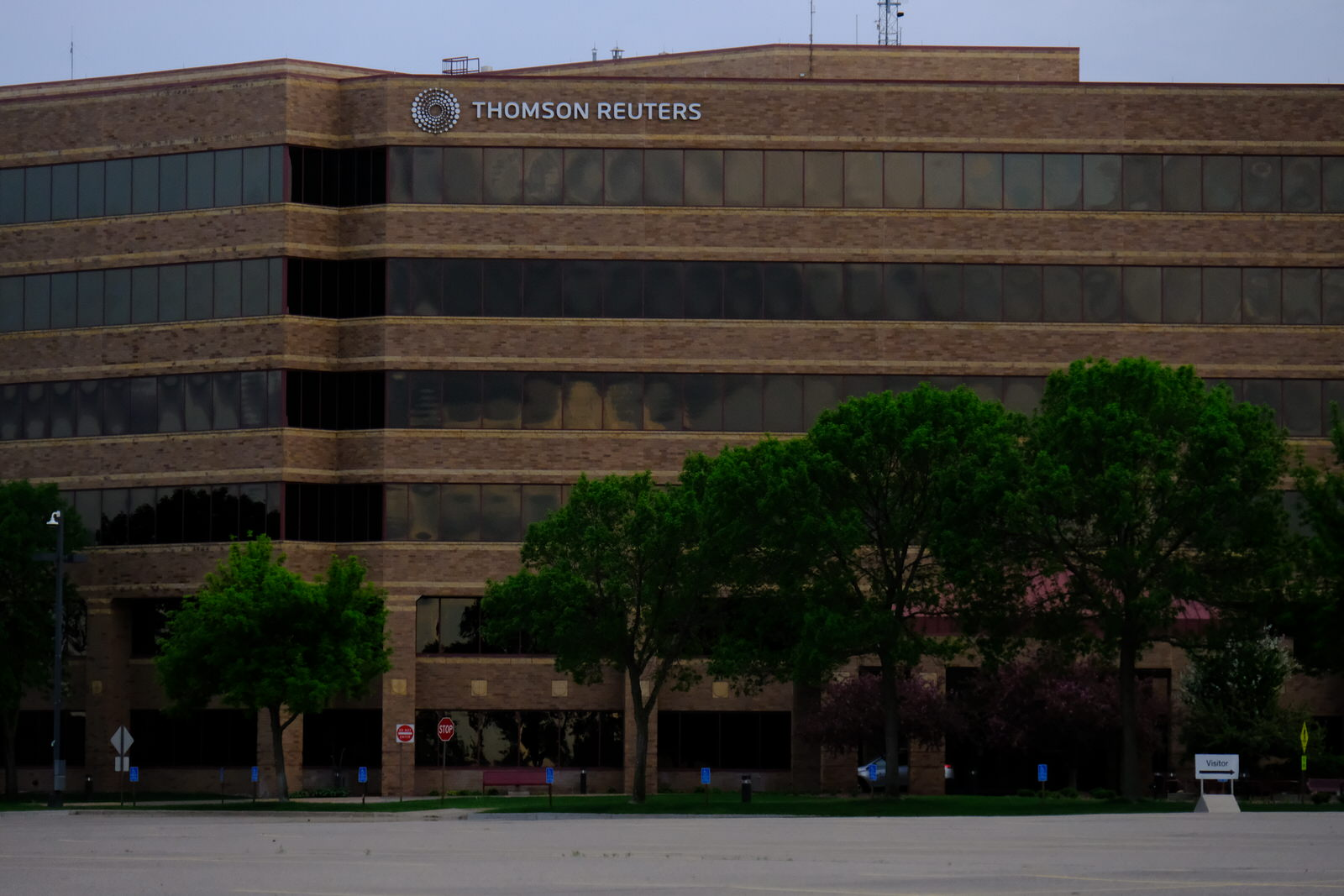 Thomson Reuters' office in Eagan, Minnesota.