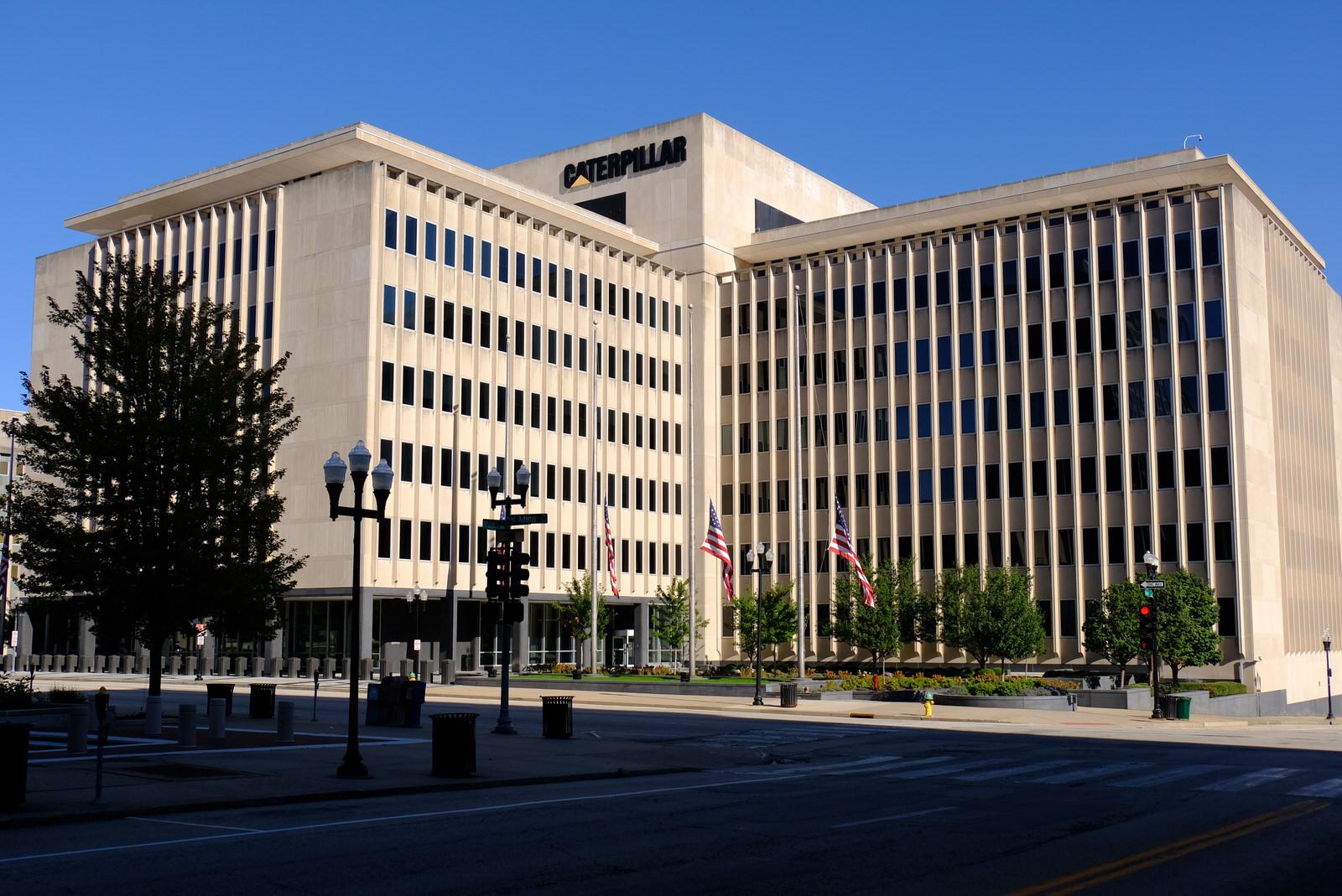 Caterpillar office in Peoria, Illinois.
