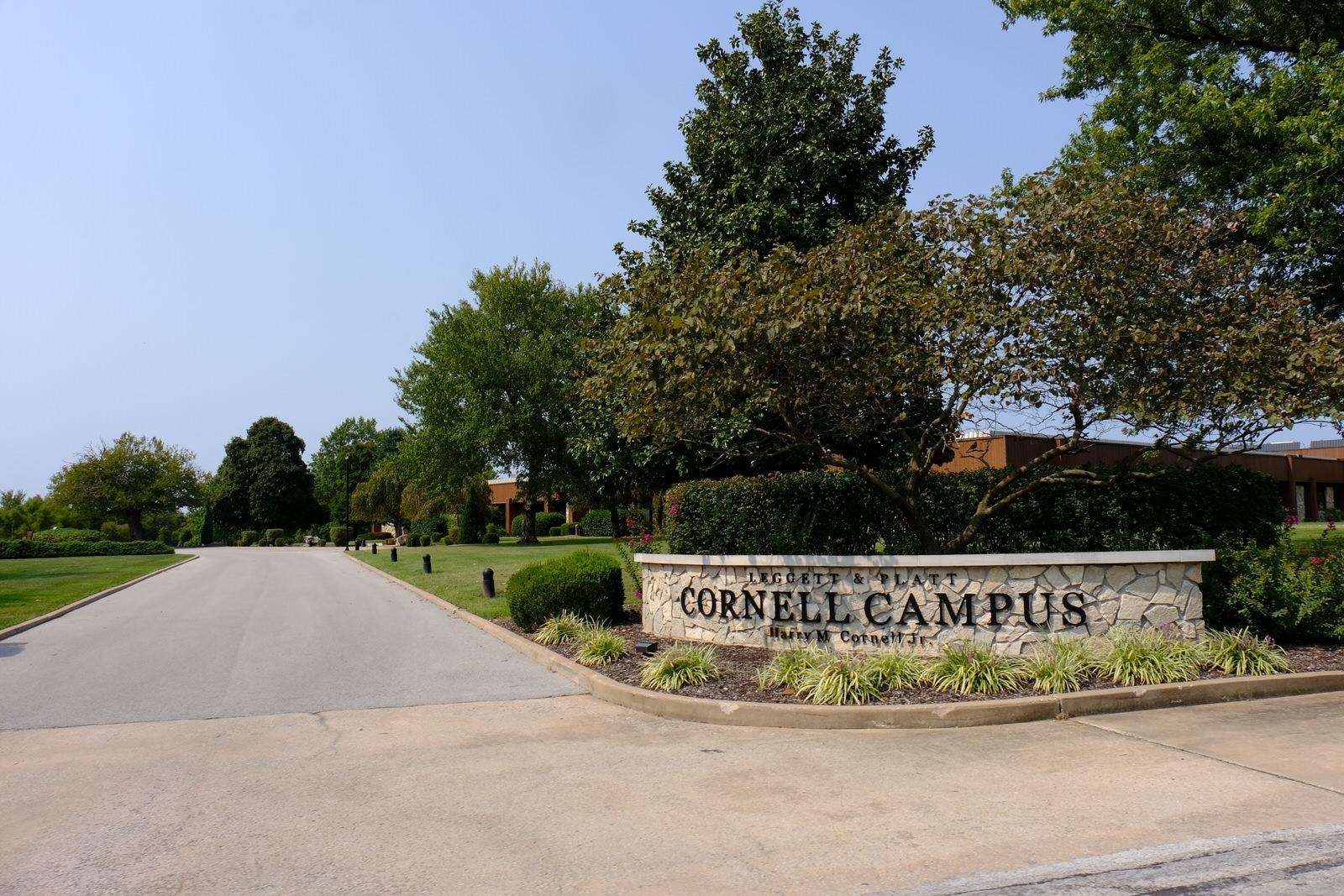 Leggett & Platt's corporate headquarters in Carthage, Missouri.