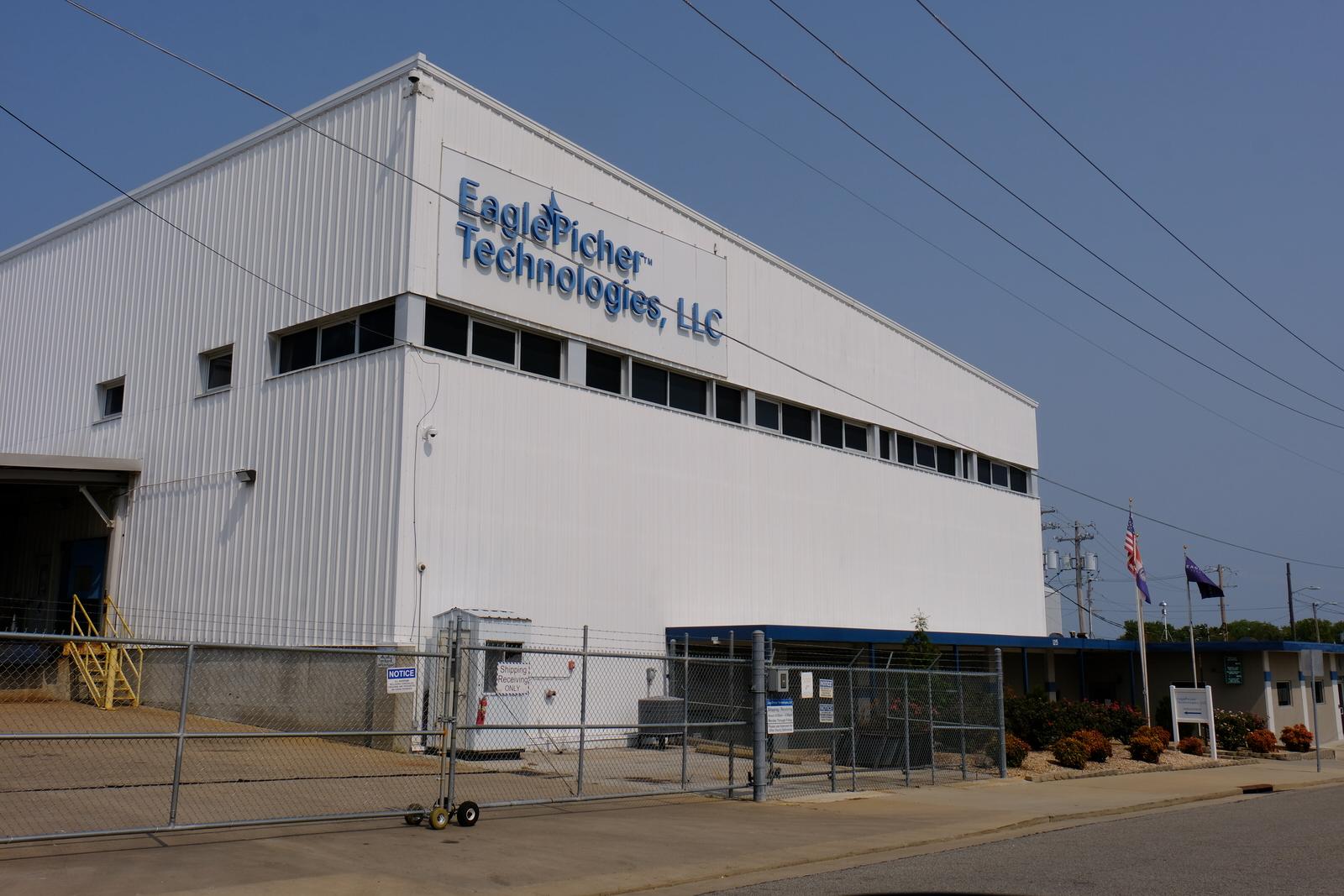 EaglePicher's corporate headquarters in Joplin, Missouri.