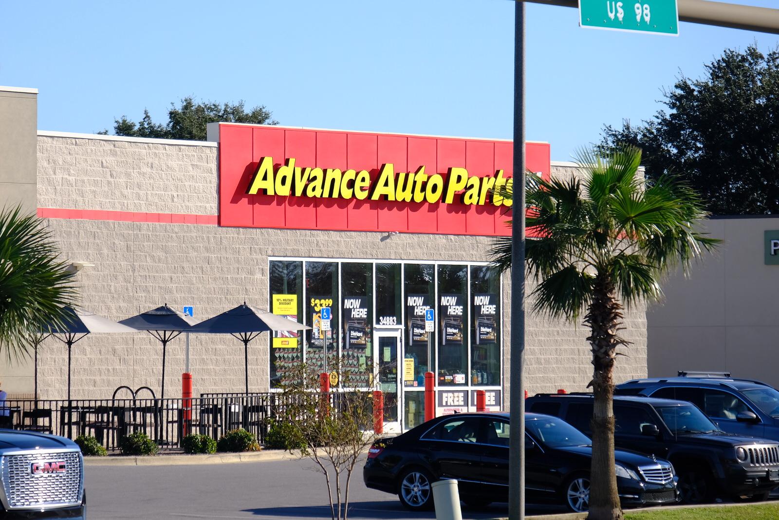 Advance Auto Parts store in Destin, Florida.