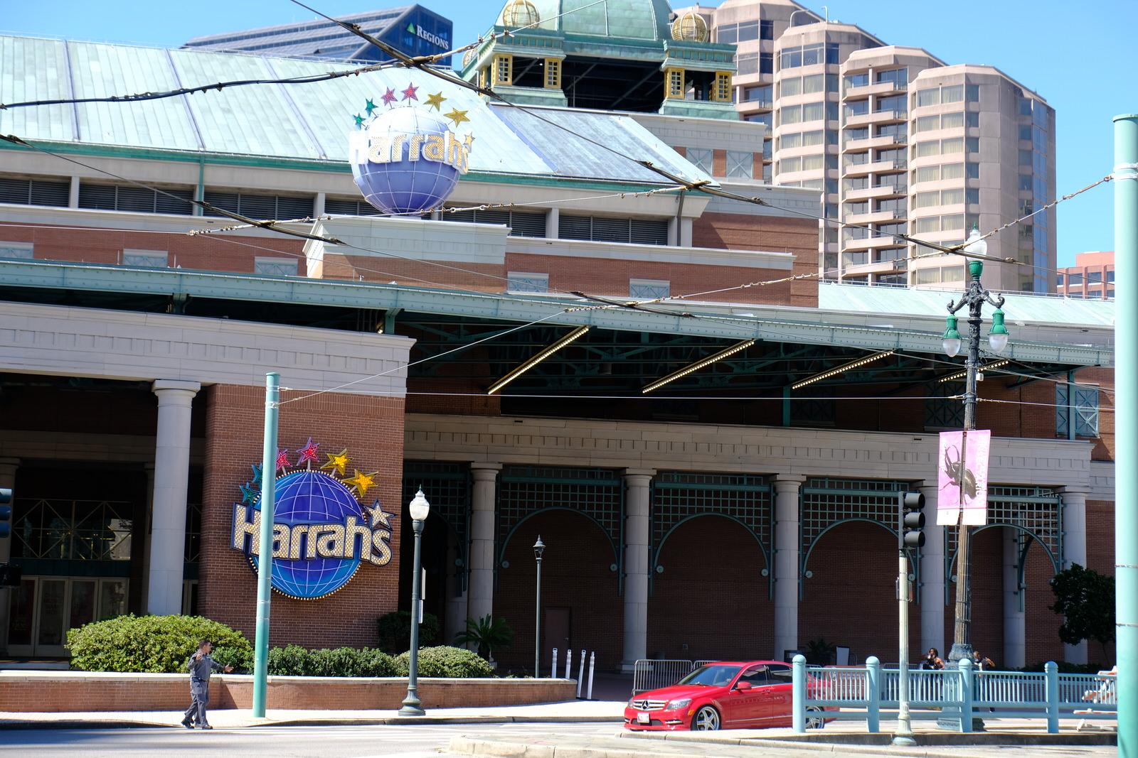 Harrah's casino in downtown New Orleans, Louisiana.