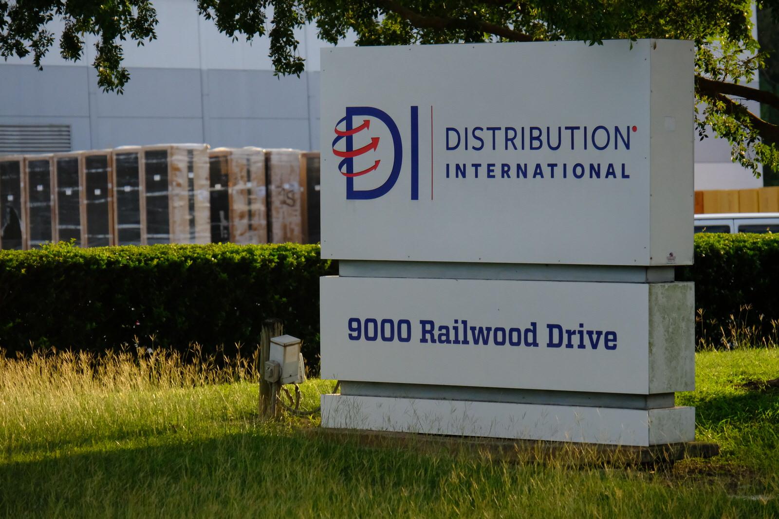 Distribution International distribution facility in Houston, Texas.