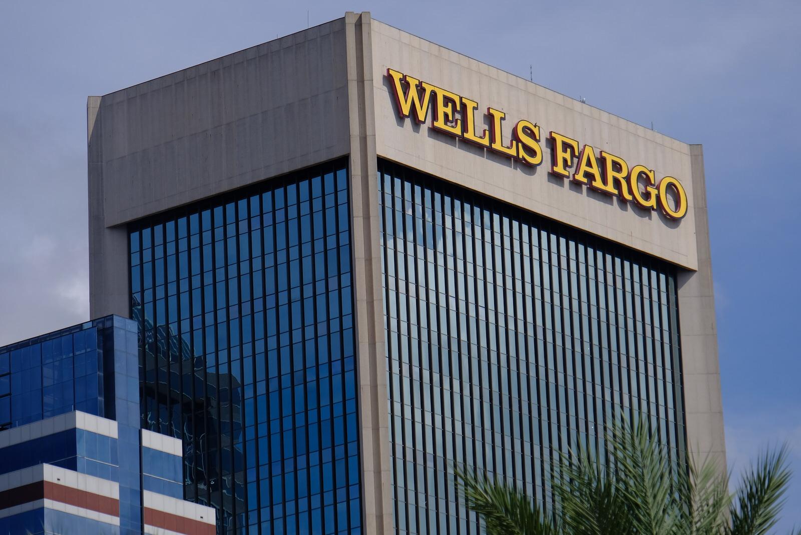 Wells Fargo Center in downtown Jacksonville, Florida.