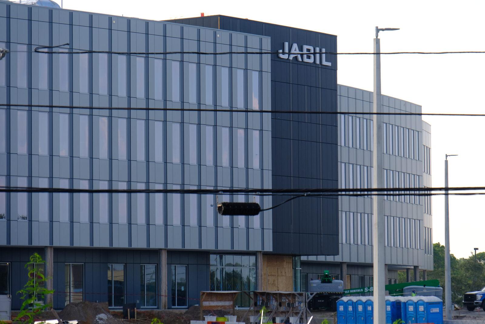 Jabil Circuit's corporate headquarters in St. Petersburg, Florida.