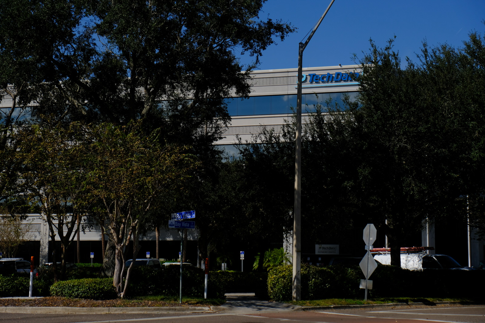 Tech Data's corporate headquarters in Clearwater, Florida.