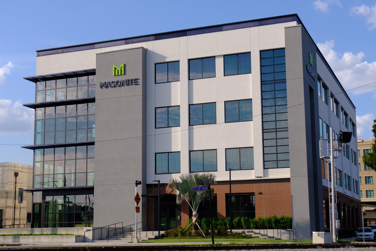 Masonite International's corporate headquarters in Tampa, Florida.
