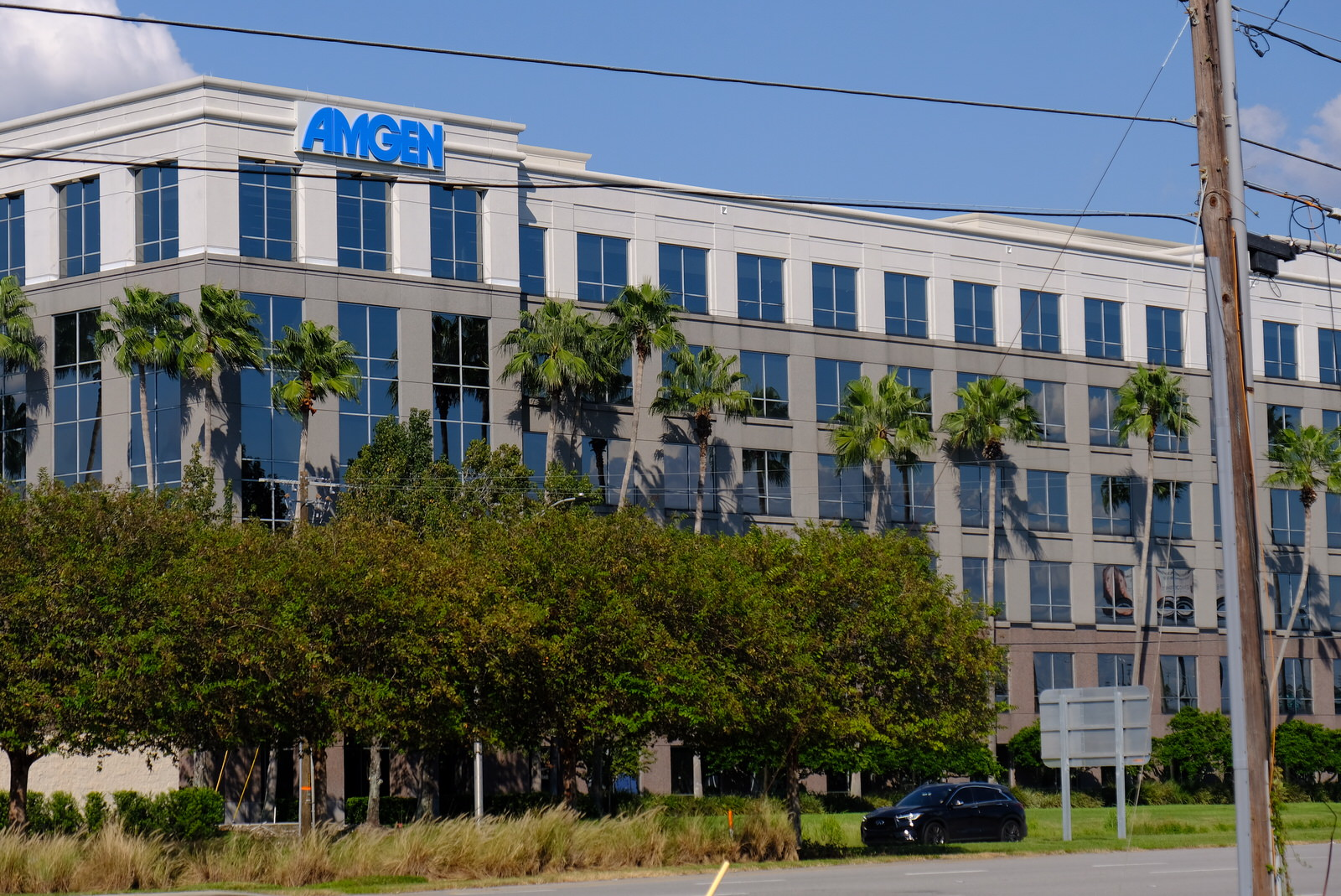 Amgen office in Tampa, Florida.