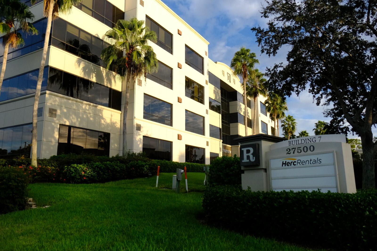 Herc Holdings' corporate headquarters in Bonita Springs, Florida.