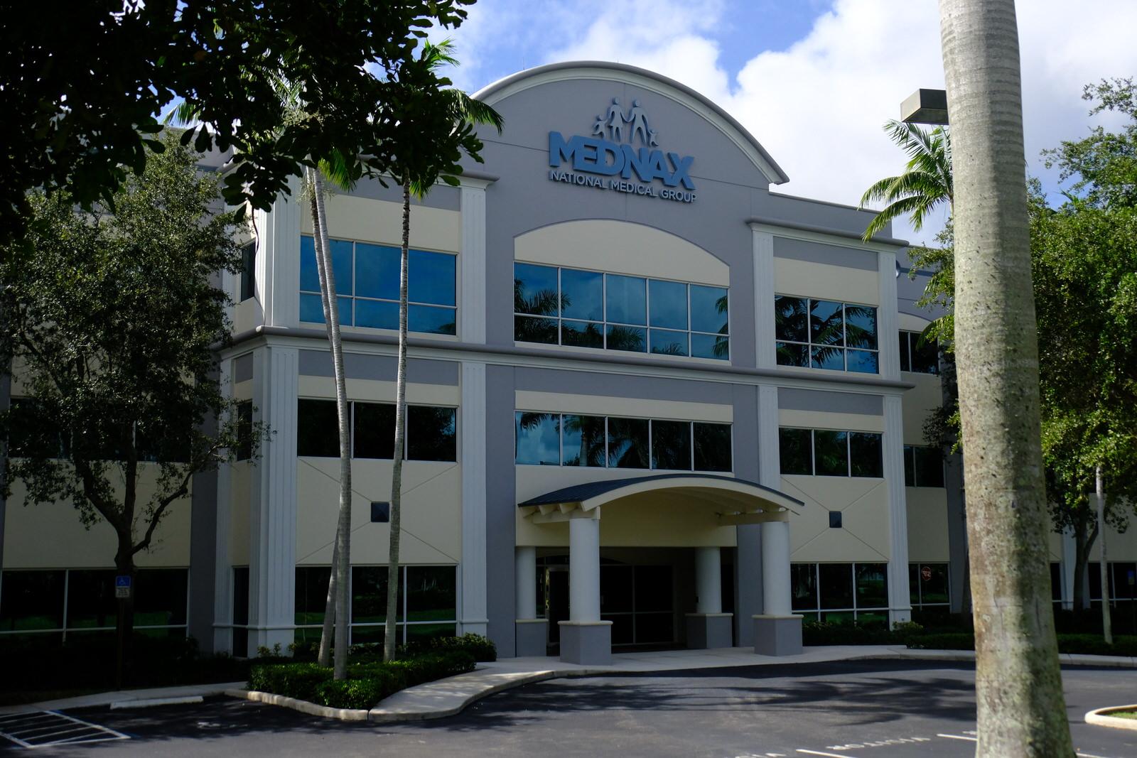 MEDNAX's corporate headquarters in Sunrise, Florida.