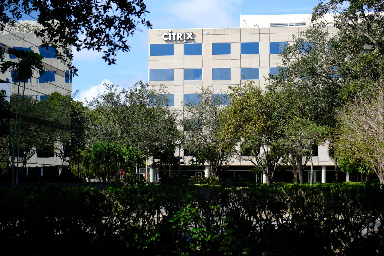 Citrix System's corporate headquarters in Fort Lauderdale, Florida.
