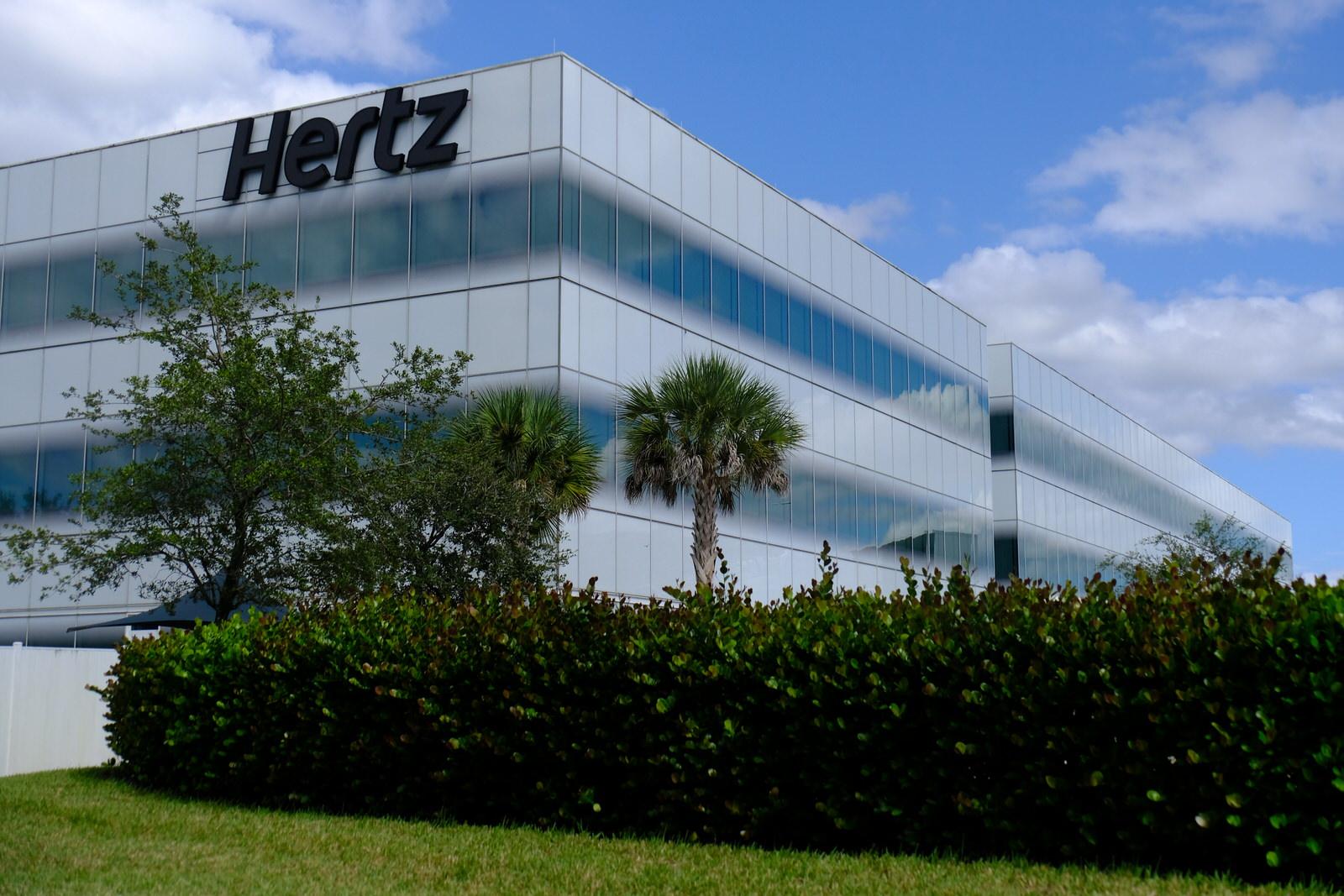 Hertz's corporate headquarters in Estero, Florida.