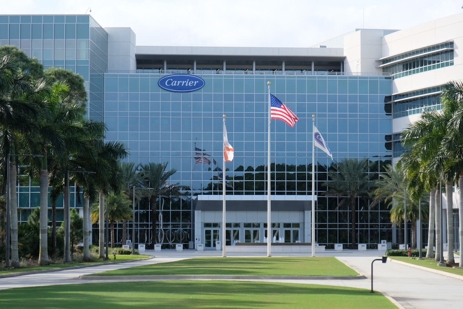 Carrier research center in Jupiter, Florida.